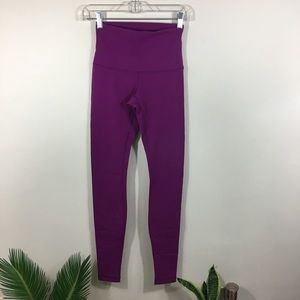 Lululemon Athletica Womens Leggings Size 4 A383